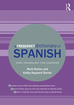 A Frequency Dictionary of Spanish (eBook, PDF)