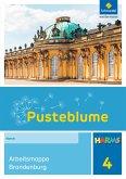 Pusteblume. Das Sachbuch 4. Harms Arbeitsmappe Brandenburg. Berlin und Brandenburg