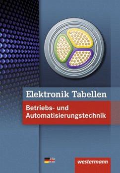 Elektronik Tabellen. Betriebs- und Automatisierungstechnik: Tabellenbuch - Dzieia, Michael; Wickert, Harald; Klaue, Jürgen; Petersen, Hans-Joachim; Jagla, Dieter; Hübscher, Heinrich