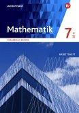 Mathematik 7. Arbeitsheft WPF II/III mit Lösungen. Realschulen. Bayern