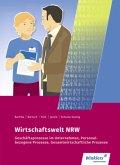 Wirtschaftswelt NRW Nordrhein-Westfalen. Schülerband