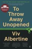 To Throw Away Unopened (eBook, ePUB)