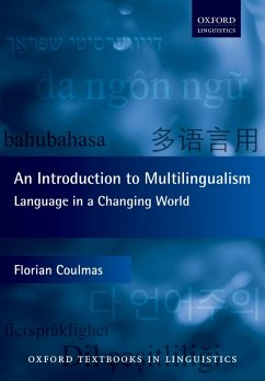 An Introduction to Multilingualism (eBook, PDF) - Coulmas, Florian