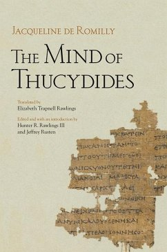 The Mind of Thucydides (eBook, PDF)