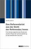 Das Referendariat aus der Sicht der Referendar/innen (eBook, PDF)