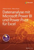 Datenanalyse mit Microsoft Power BI und Power Pivot für Excel (eBook, PDF)