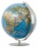 DUORAMA Mini Globus, Fuß u. Meridian Edelstahl / Columbus Globen .