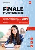 FiNALE Prüfungstraining 2019 Mittlerer Schulabschluss, Fachoberschulreife, Erweiterte Bildungsreife Berlin und Brandenburg. Deutsch