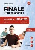 FiNALE Prüfungstraining 2019/20 Zentralabitur Niedersachsen. Deutsch