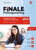 Finale Prüfungstraining 2019 - Abschluss 10. Klasse Integrierte Gesamtschule Niedersachsen, Deutsch G- und E-Kurs