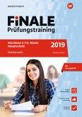 FiNALE Prüfungstraining 2019 Abschluss 9./10. Klasse Hauptschule Niedersachsen. Mathematik