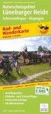 PublicPress Rad- und Wanderkarte Naturschutzgebiet Lüneburger Heide, Schneverdingen - Bispingen