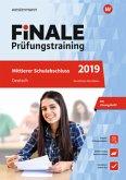FiNALE Prüfungstraining 2019 Mittlerer Schulabschluss Nordrhein-Westfalen. Deutsch