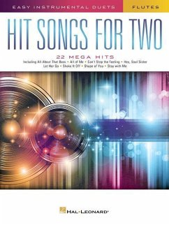 Hit Songs for Two Flutes: Easy Instrumental Duets