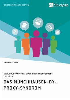 Das Münchhausen-by-proxy-Syndrom (eBook, ePUB) - Filchner, Marina