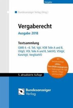Vergaberecht - Ausgabe 2019