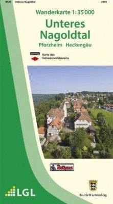 Topographische Wanderkarte Baden-Württemberg Un...