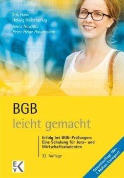 BGB - leicht gemacht - Nawratil, Heinz; Hauptmann, Peter-Helge