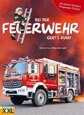Bei der Feuerwehr geht's rund - mit großem farbigem Feuerwehr-Poster