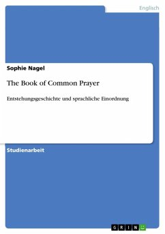 The Book of Common Prayer (eBook, ePUB)