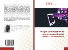 Analyse et conception de gestion du patrimoine ...