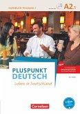 Pluspunkt Deutsch A2: Teilband 1 - Allgemeine Ausgabe - Kursbuch mit Video-DVD