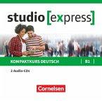 Übungsgrammatik B1, 2 Audio-CDs / studio [express]