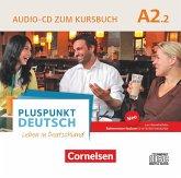 Audio-CD zum Kursbuch / Pluspunkt Deutsch - Leben in Deutschland, Neu .A2.2, Tl.2