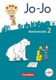 Jo-Jo Mathematik 2. Schuljahr - Allgemeine Ausgabe 2018 - Schülerbuch mit Kartonbeilagen und Lernspurenheft
