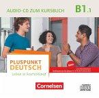 Audio-CD zum Kursbuch / Pluspunkt Deutsch - Leben in Deutschland, Neu .B1.1, Tl.1