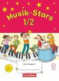 Musik-Stars - Grundwissen 1./2. Schuljahr - Übungsheft mit Lösungen und Audio-CD