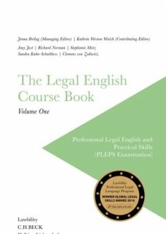 The Legal English Course Book Vol. I
