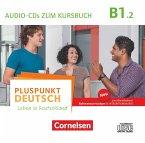 2 Audio-CDs zum Kursbuch / Pluspunkt Deutsch - Leben in Deutschland, Neu .B1.2, Tl.2