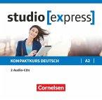 Übungsgrammatik A2, 2 Audio-CDs im wav-Format / studio [express]