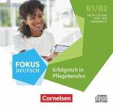 Fokus Deutsch - Erfolgreich in Pflegeberufen, Audio-CDs zum Kursbuch im wav-Format