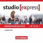 Übungsgrammatik A1, A2, B1, 6 Audio-CDs im wav-Format / studio [express]