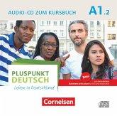 Audio-CD zum Kursbuch / Pluspunkt Deutsch - Leben in Deutschland, Neu .A1.2, Tl.2