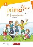 Prima - Los geht's! Band 1 - Arbeitsbuch mit Audio-CD und Stickerbogen
