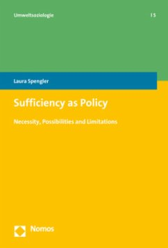 Sufficiency as Policy - Spengler, Laura