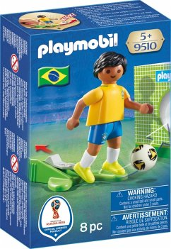 PLAYMOBIL® 9510 Nationalspieler Brasilien