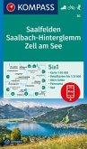KOMPASS Wanderkarte Saalfelden, Saalbach-Hinterglemm, Zell am See