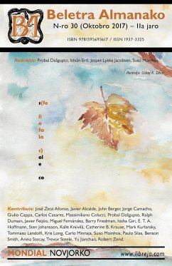 Beletra Almanako 30 (BA30 - Literaturo en Esperanto)