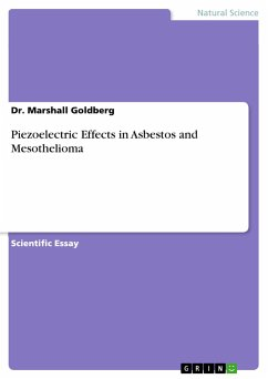 Piezoelectric Effects in Asbestos and Mesothelioma