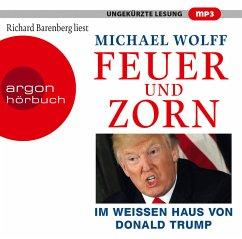 Feuer und Zorn, 2 MP3-CDs - Wolff, Michael