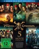 Pirates of the Caribbean 1 - 5 Bluray Box