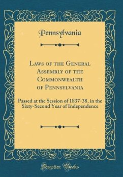 Laws of the General Assembly of the Commonwealt...