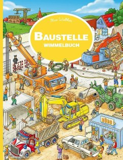 Baustelle Wimmelbuch - Walther, Max