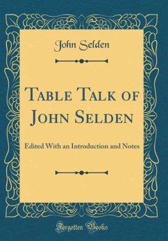 Table Talk of John Selden