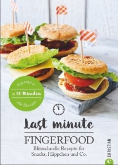 Last Minute Fingerfood (Mängelexemplar)