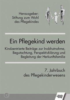 Ein Pflegekind werden. 7. Jahrbuch des Pflegekinderwesens (eBook, PDF)